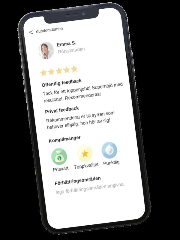 Snabb och smidig kommunikation direkt i appen Done