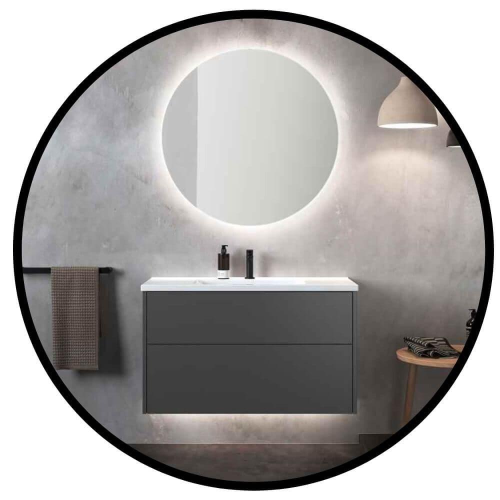 Belysning i badrumsskåp