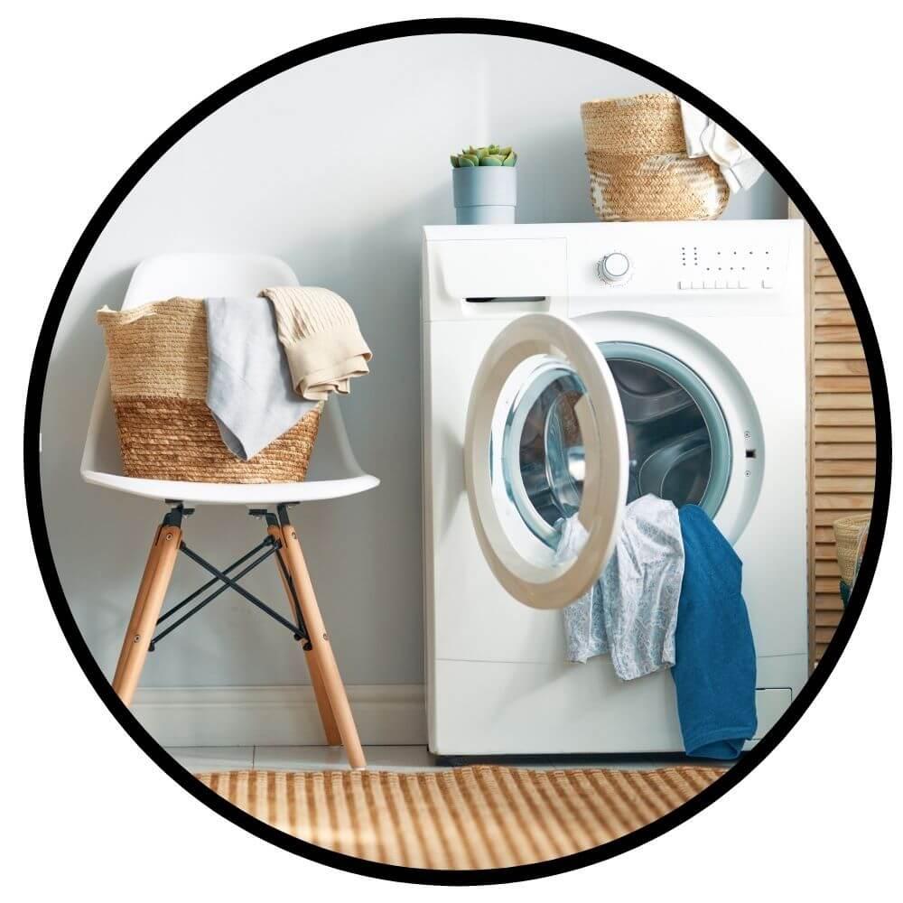 Elinstalltion för tvättmaskin