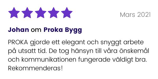 Johan recenserar Proka Bygg
