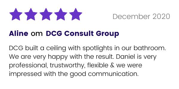 DCG Consult Group får ett gott omdömde