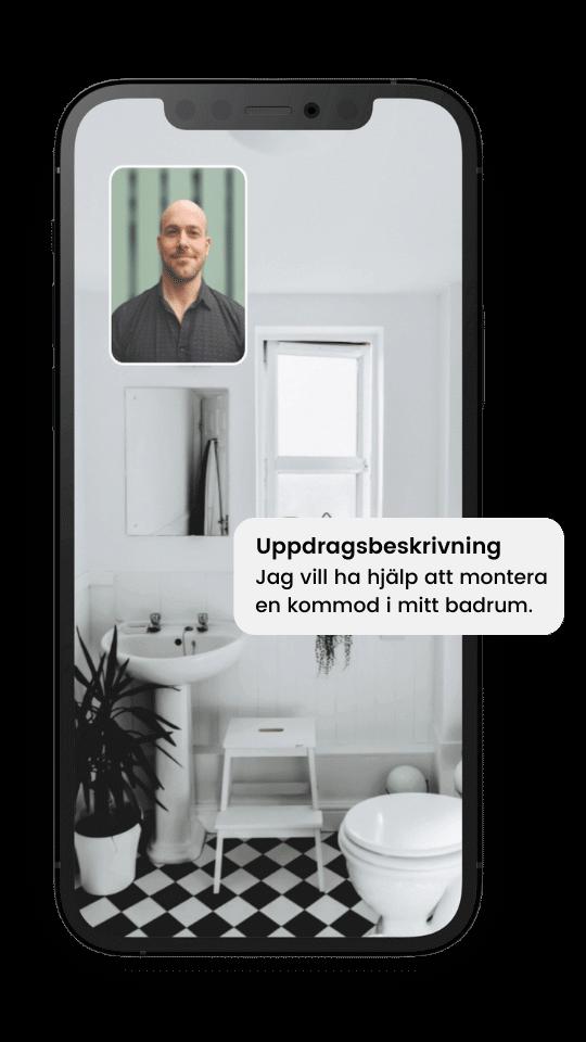 Rörmokare i Göteborg videosamtal
