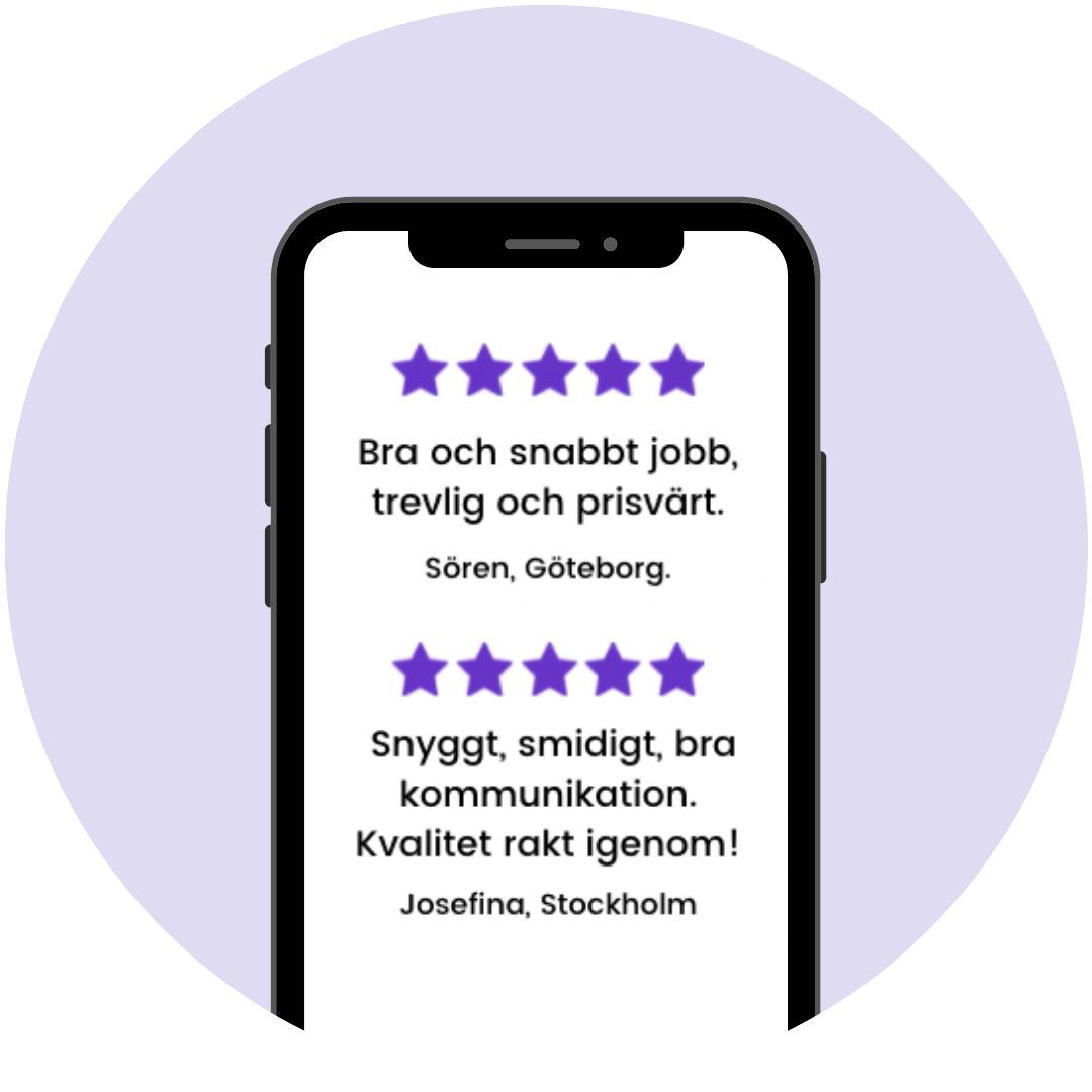 Rörfirmor i Uppsala med toppbetyg