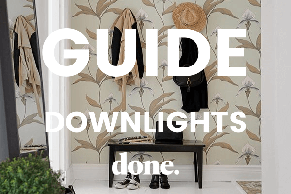 guide downlights spotlights