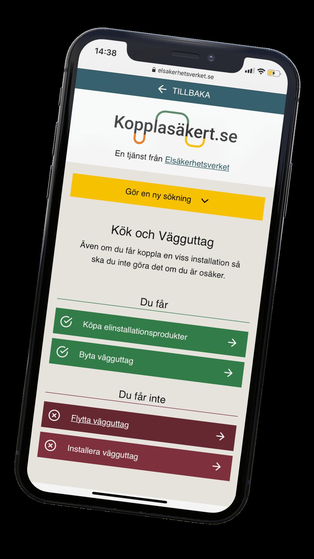 Done i samarbete med Koppla Säkert från Elsäkerhetsverket