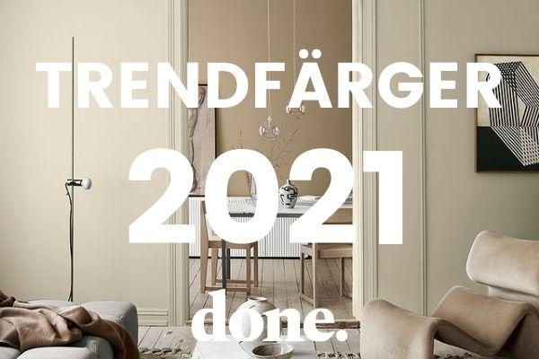 Årets trendfärger 2021