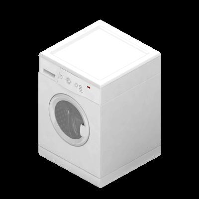 Done hjälper till med installation av tvättmaskin