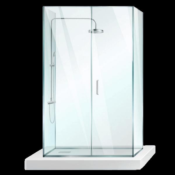 Done installera duschvägg från K-Rauta