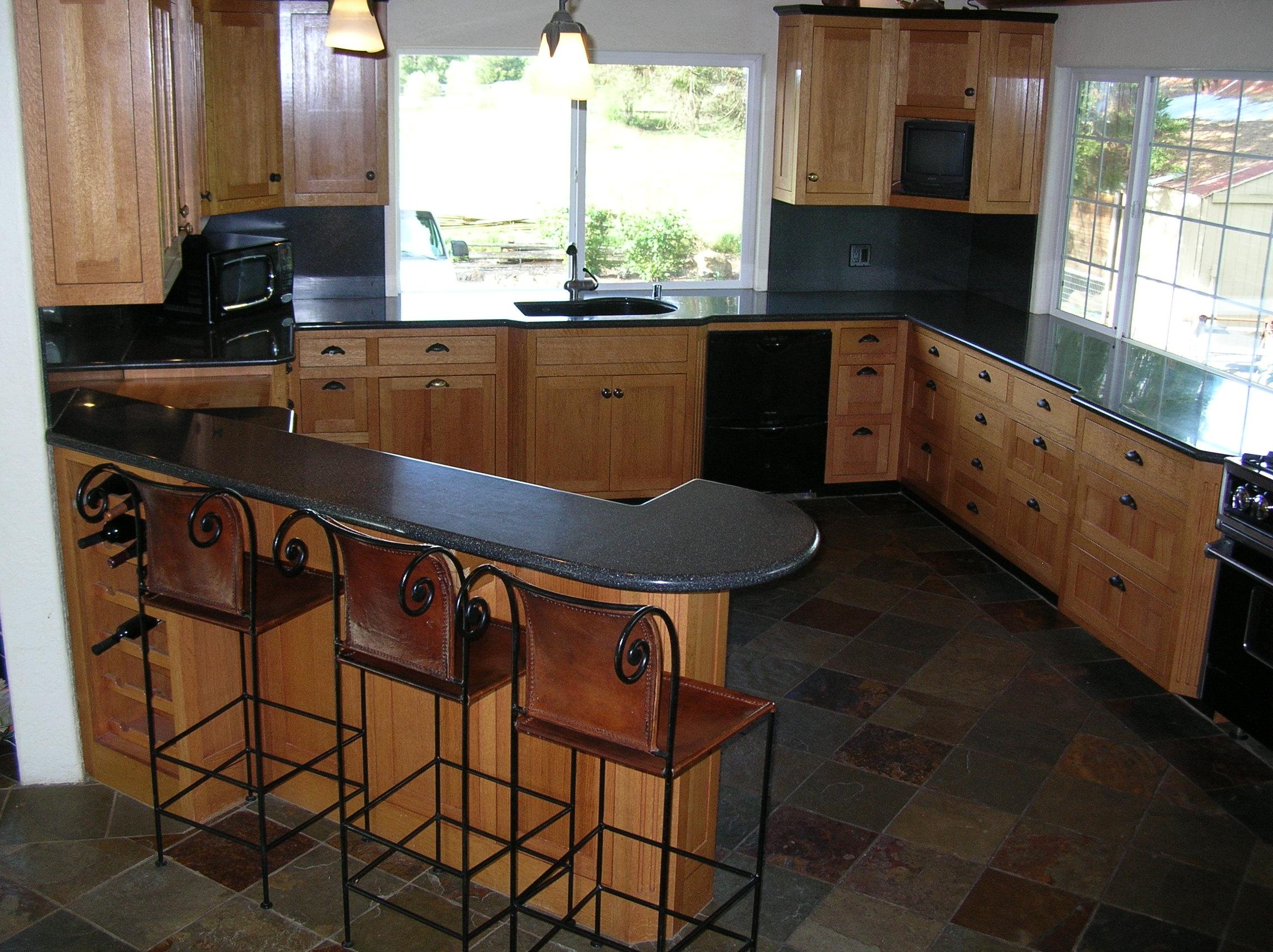 Flush Inset Rift Oak Kitchen Cabinets | Blog