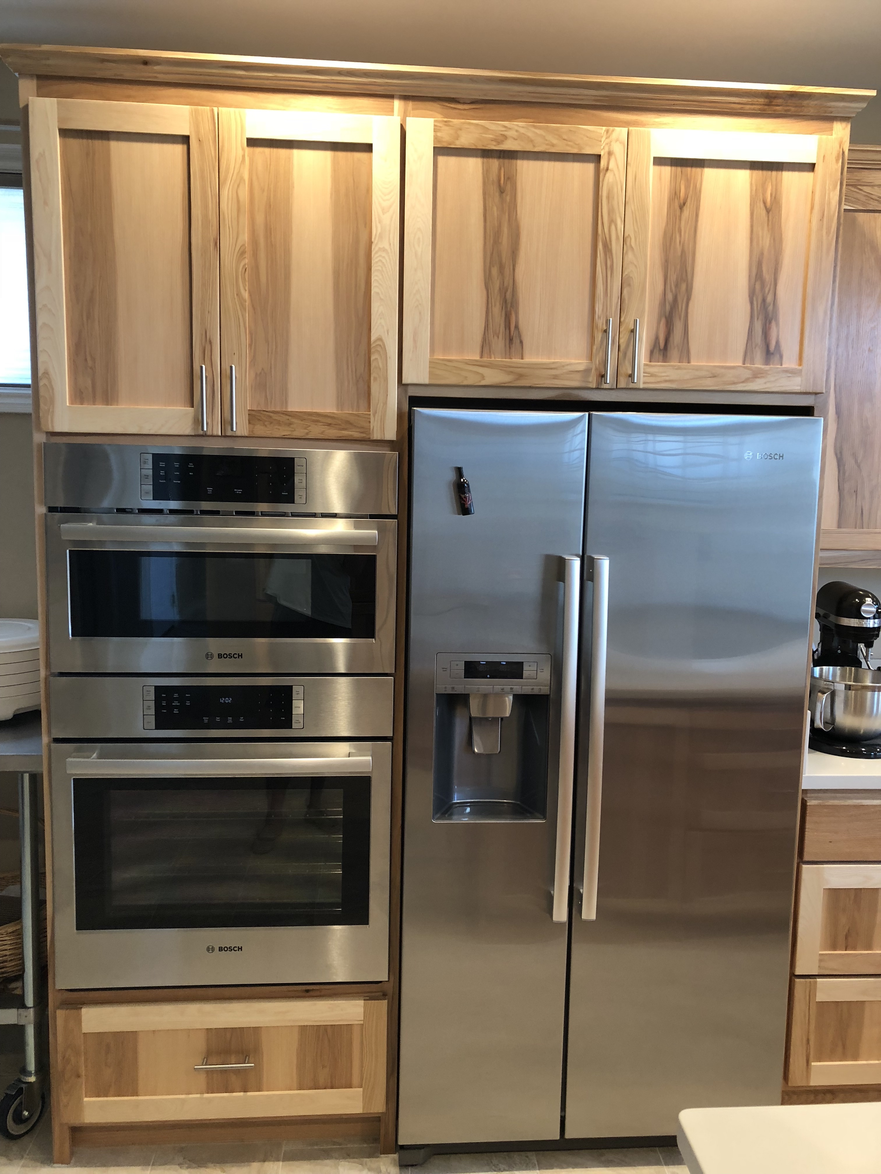 Hickory Kitchen Cabinets With Island Blog
