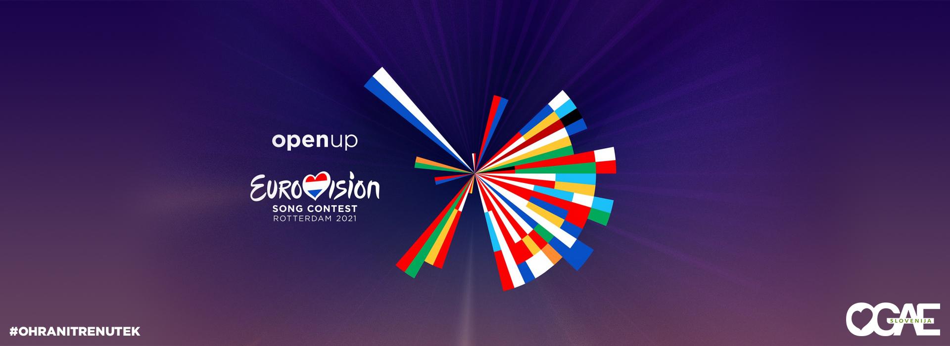 Prenovljen logo Pesmi Evrovizije 2021