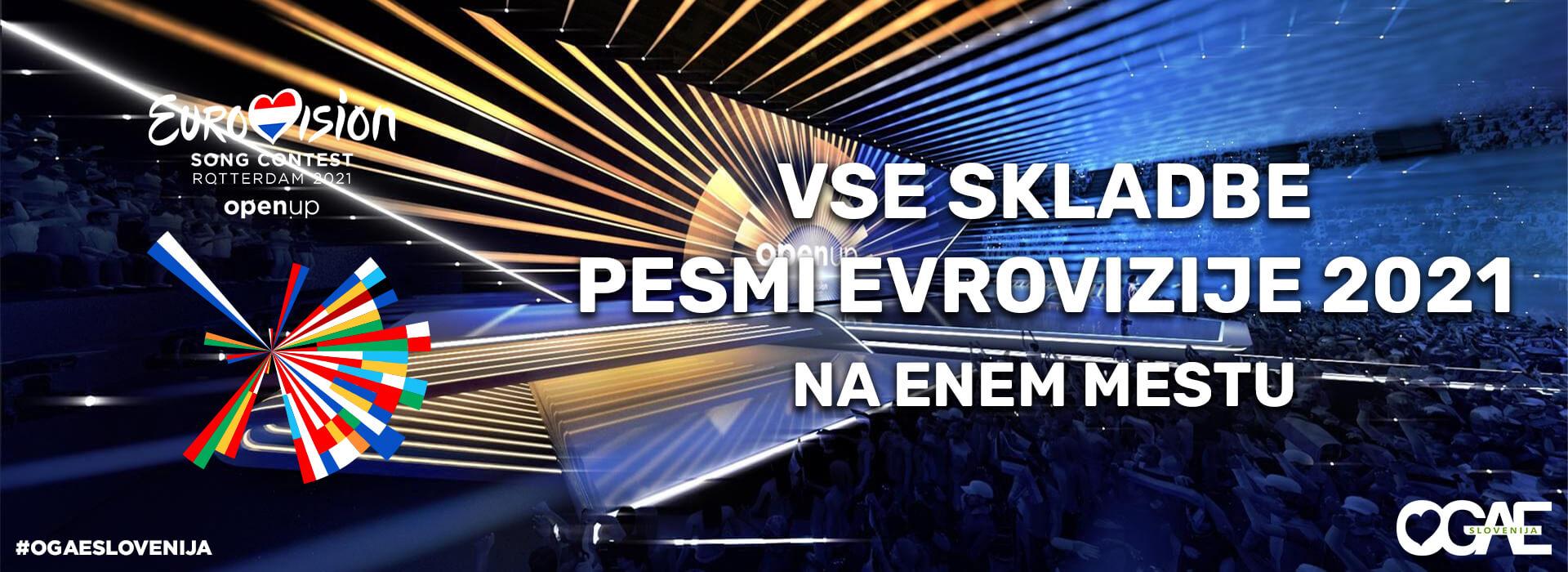 Evrovizijske pesmi 'letnik 2021'!