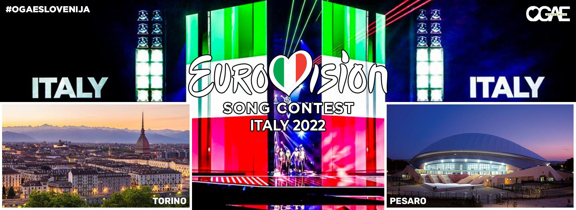 Išče se mesto Pesmi Evrovizije 2022!