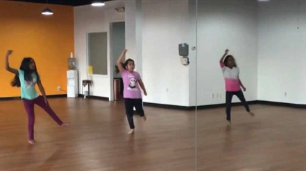 Bollywood dance class in Houston
