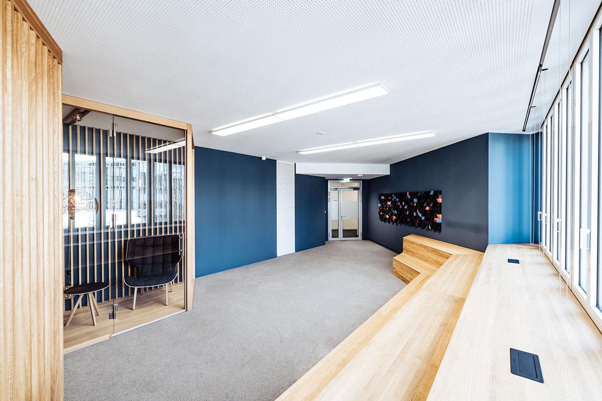 Overview presentation room