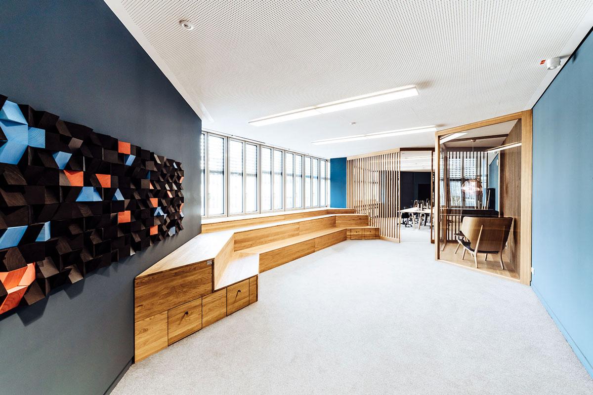 Pixel Wall Art Acoustic , Atrium