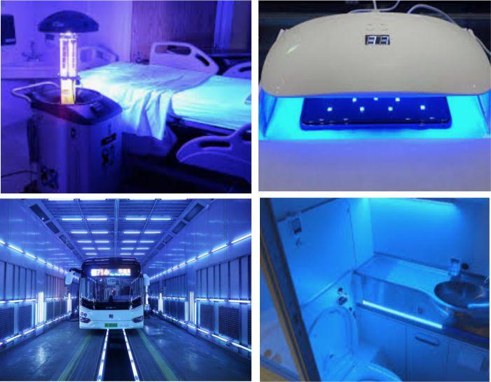 Using UV-C to disinfect