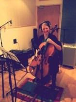 Matt Thomas Tompson Session Racheal Shakespear cello