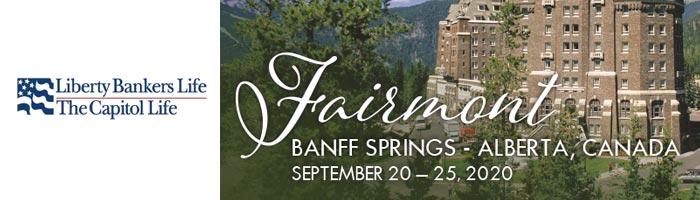 Liberty Bankers Life – 2020 Banff Springs - Alberta, Canada