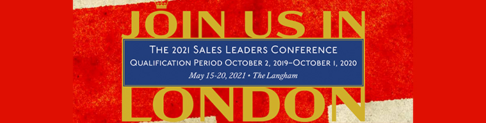 Bankers Fidelity 2021 Sales Leaders Conference in London