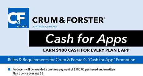 US Fire Plan L $100 Cash Bonus
