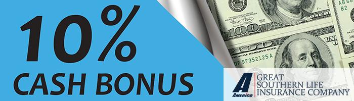 Americo UFirst Rewards: 10% Cash Bonus on Medicare Supplement Business