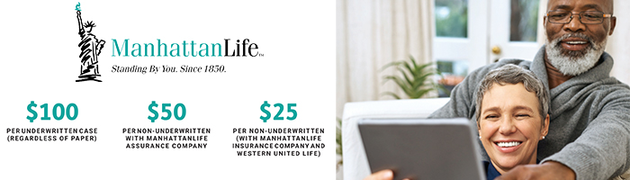 ManhattanLife, MAC, and WULA Cash Bonus Program | Q4 2020