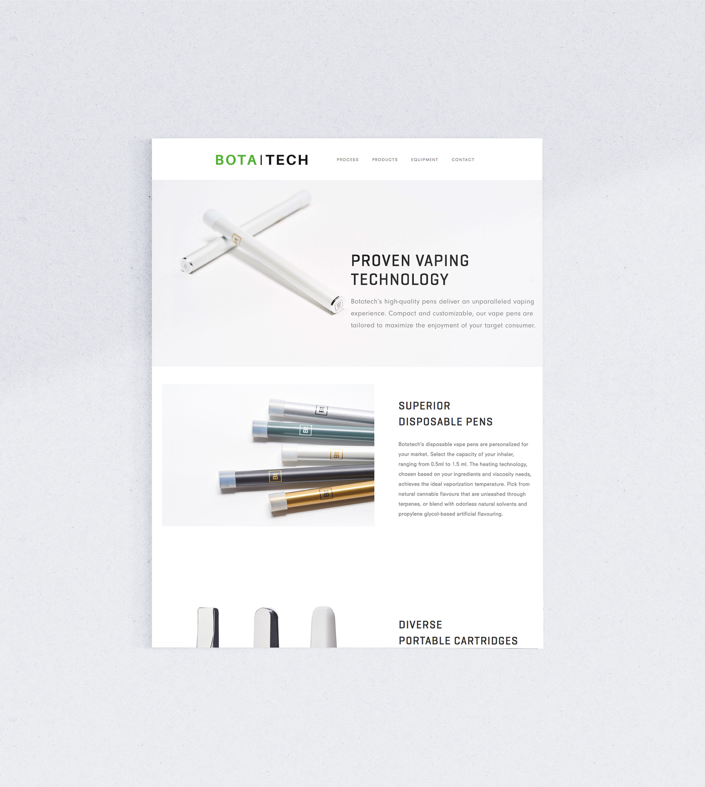 Siblings Creative Design Studio Botatech Products