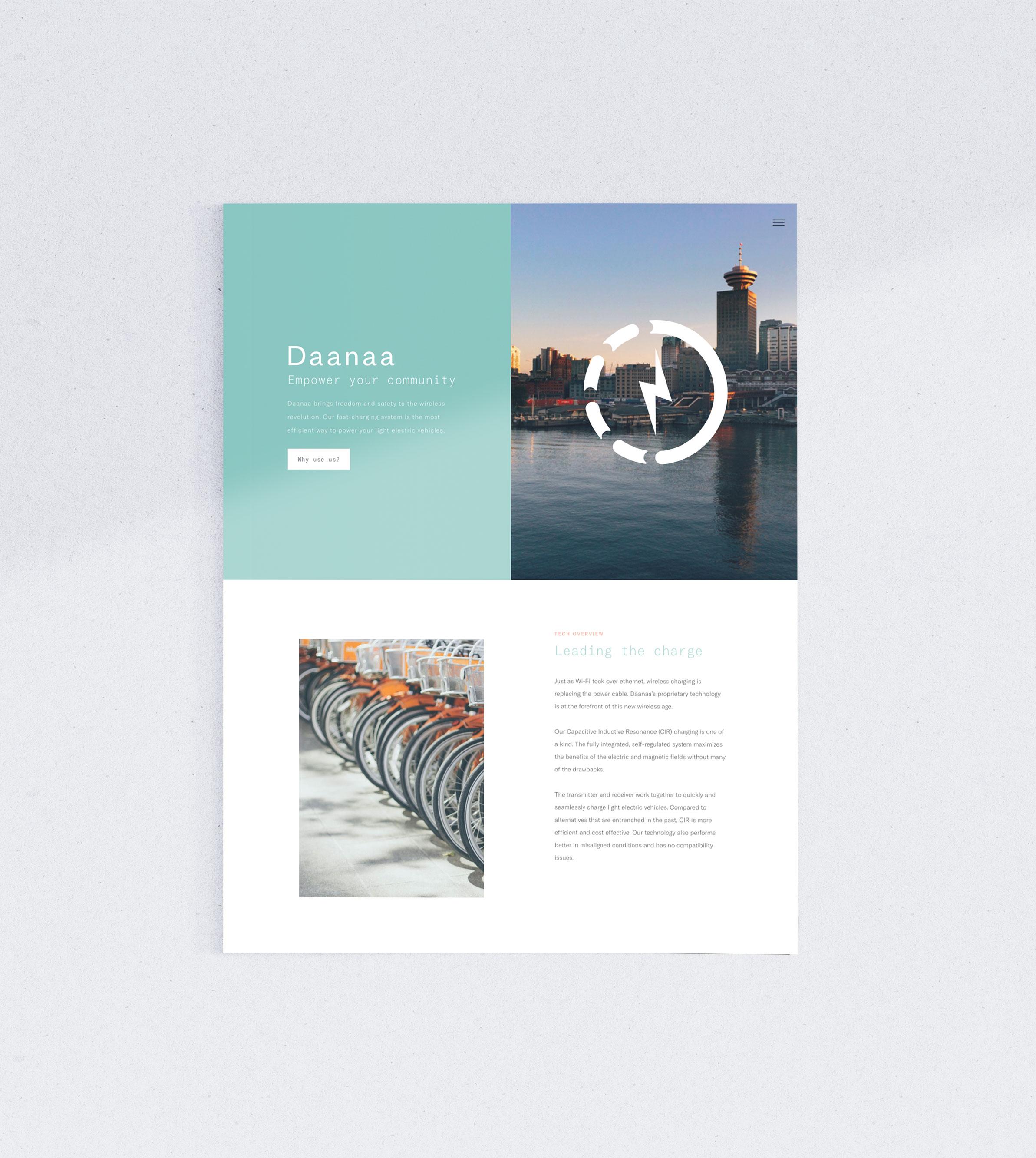 Siblings Creative Design Studio Daanaa Homepage