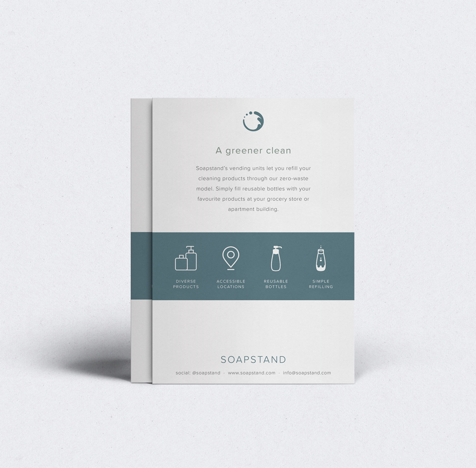 Siblings Creative Design Studio Soapstand Info Cards