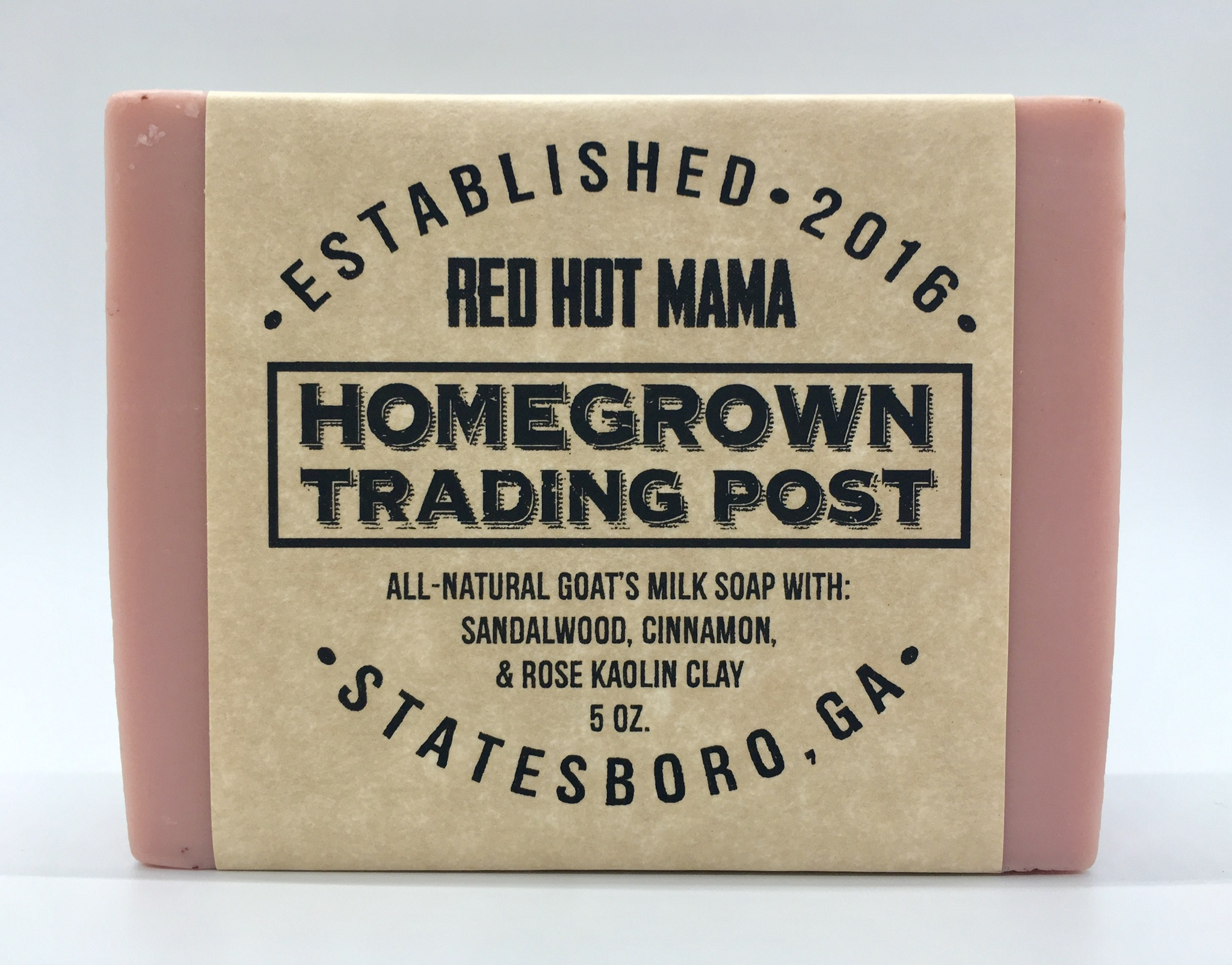 Red Hot Mama - Goat's Milk Soap