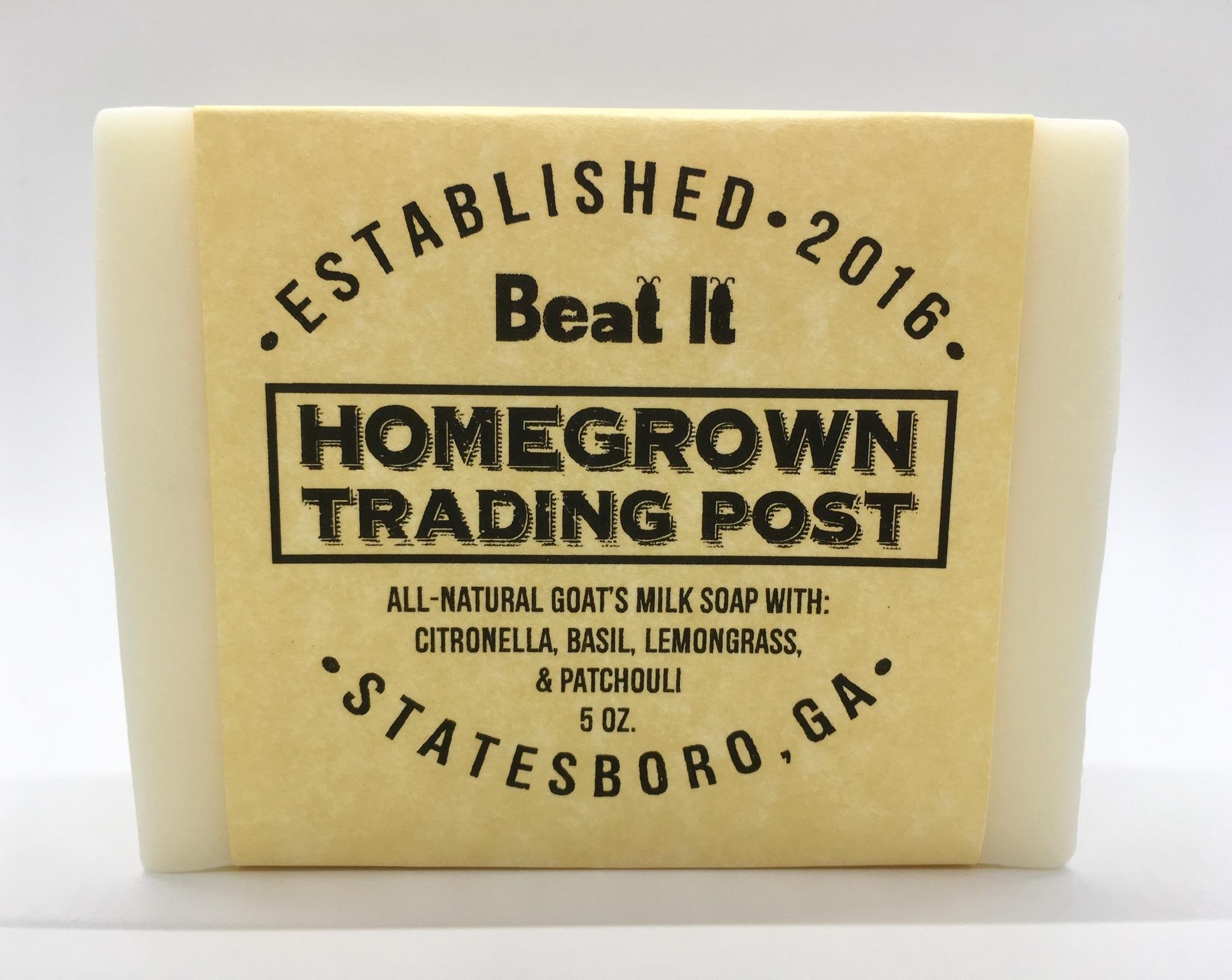Beat It - Goat's Milk Soap