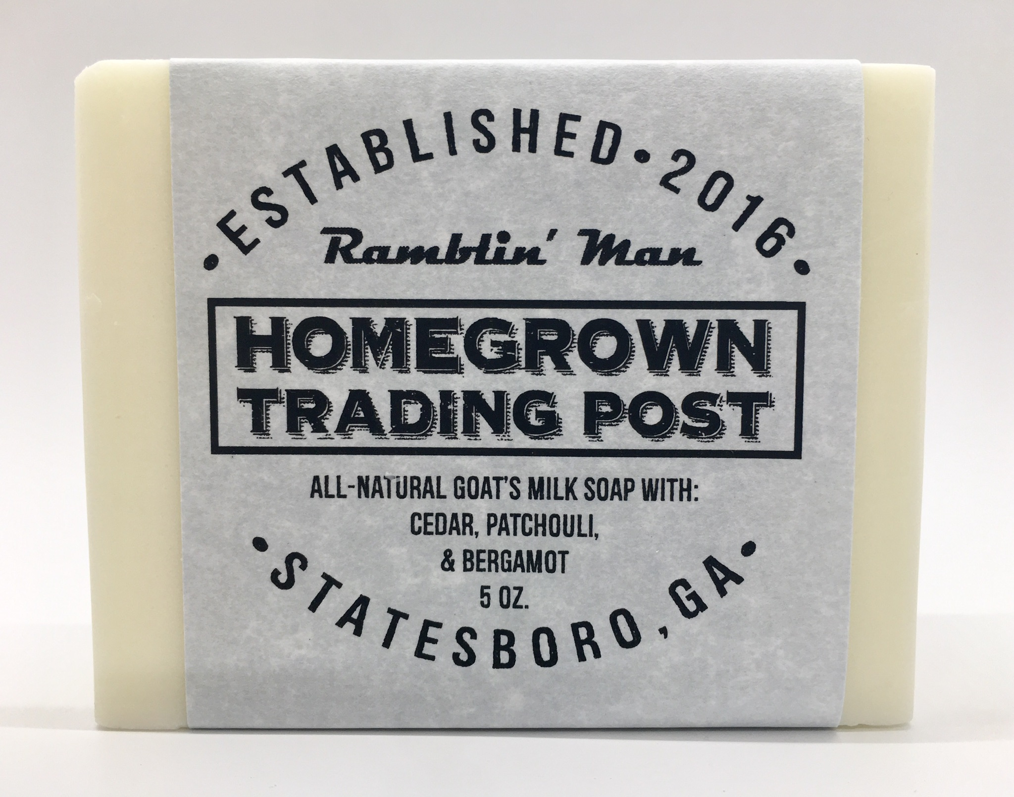 Ramblin Man - Goat's Milk Soap