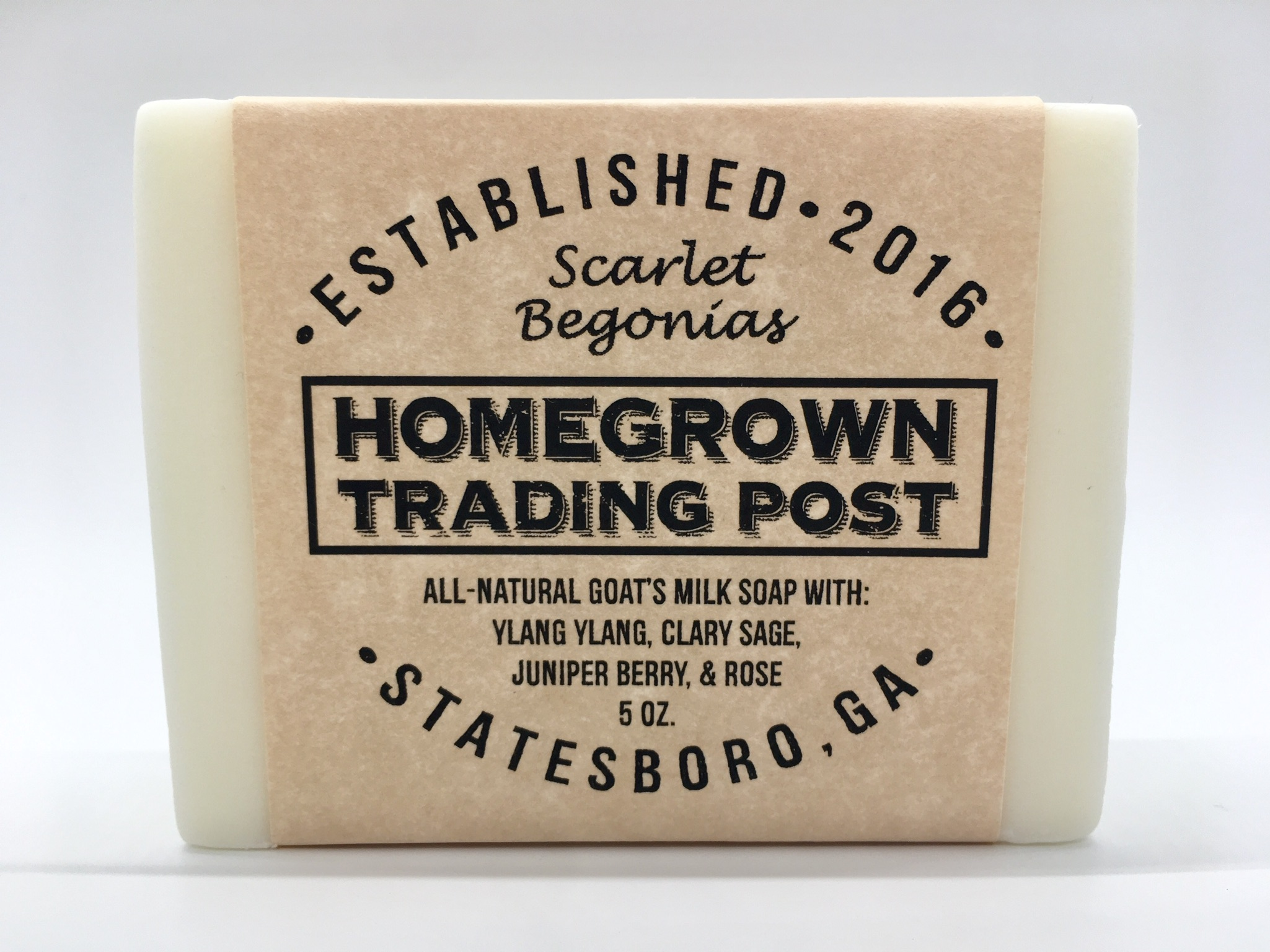 Scarlet Begonias - Goat's Milk Soap