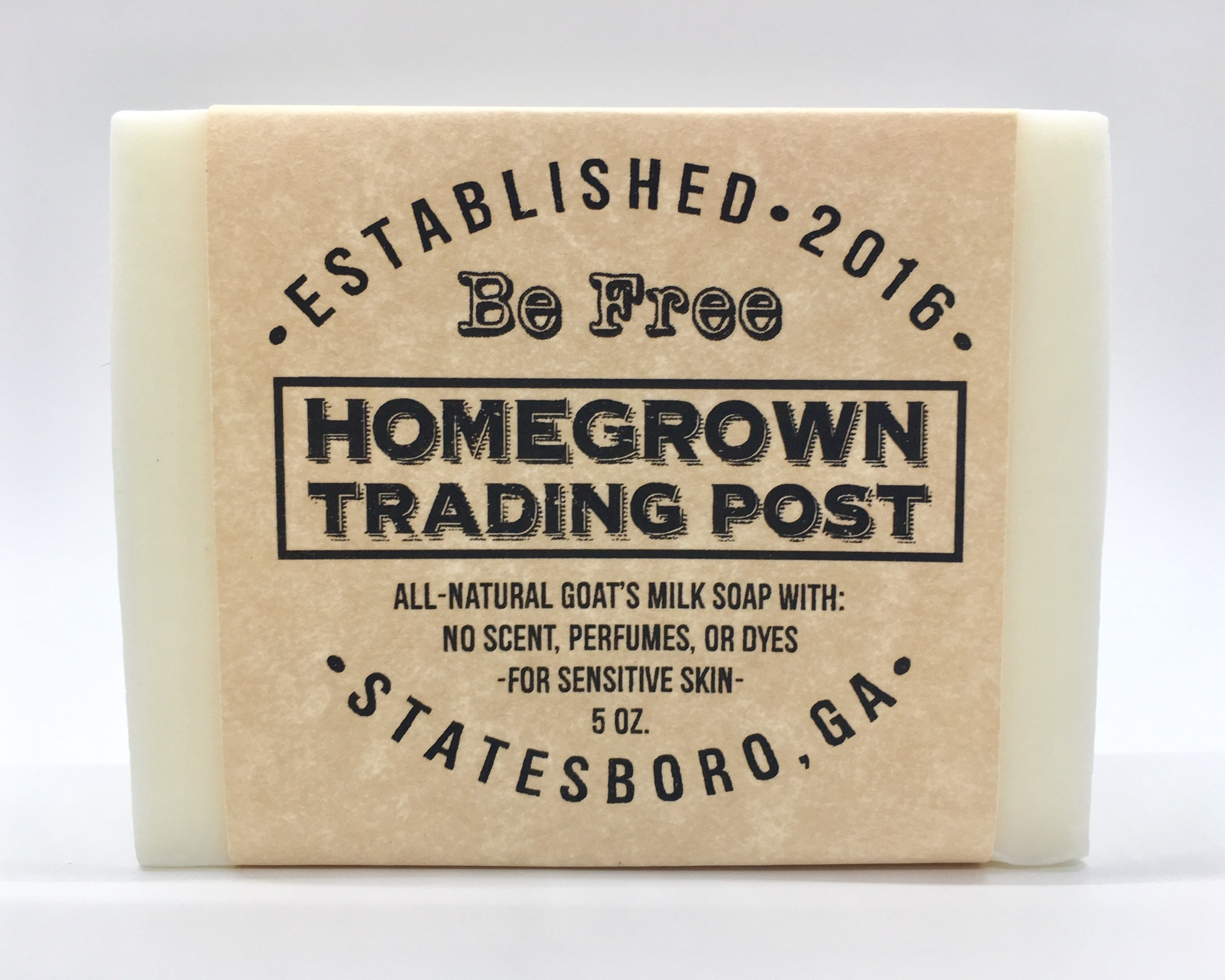 Be Free - Goat's Milk Soap