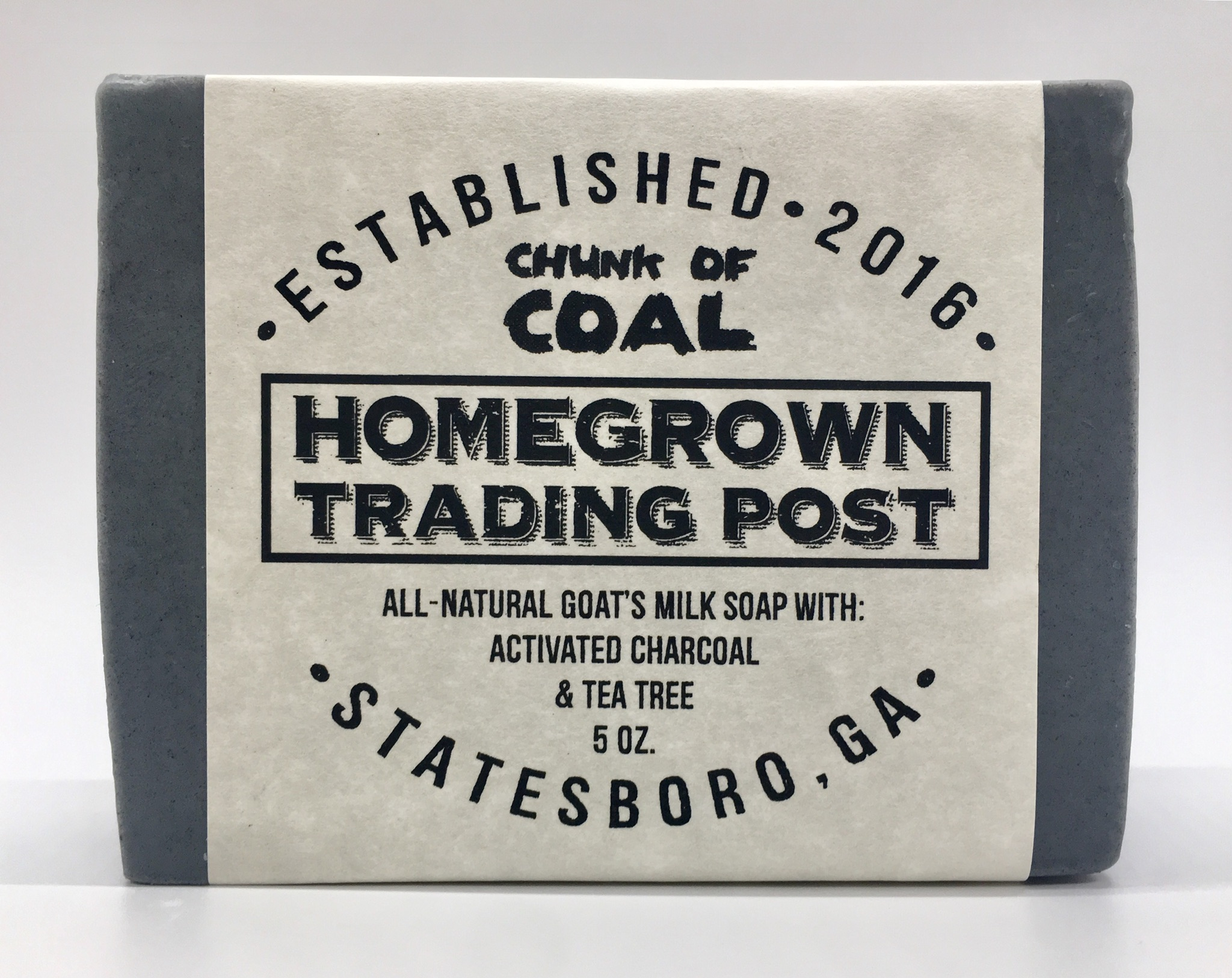 Chunk of Coal - Goat's Milk Soap