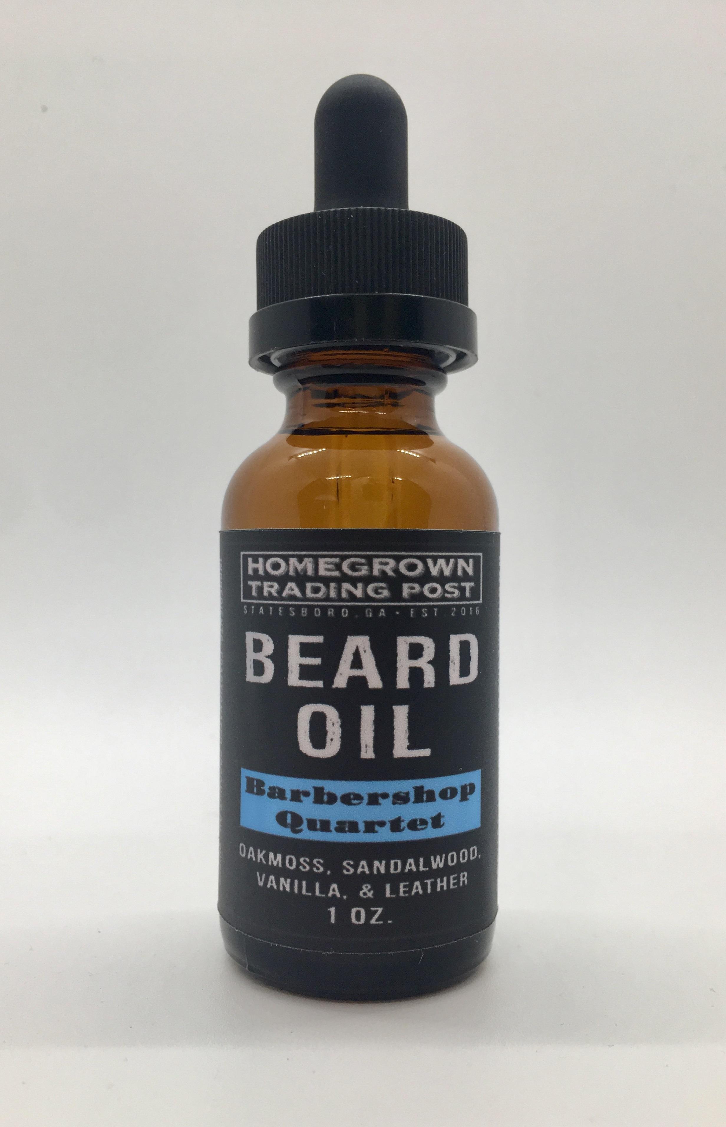 Barbershop Quartet Beard Oil