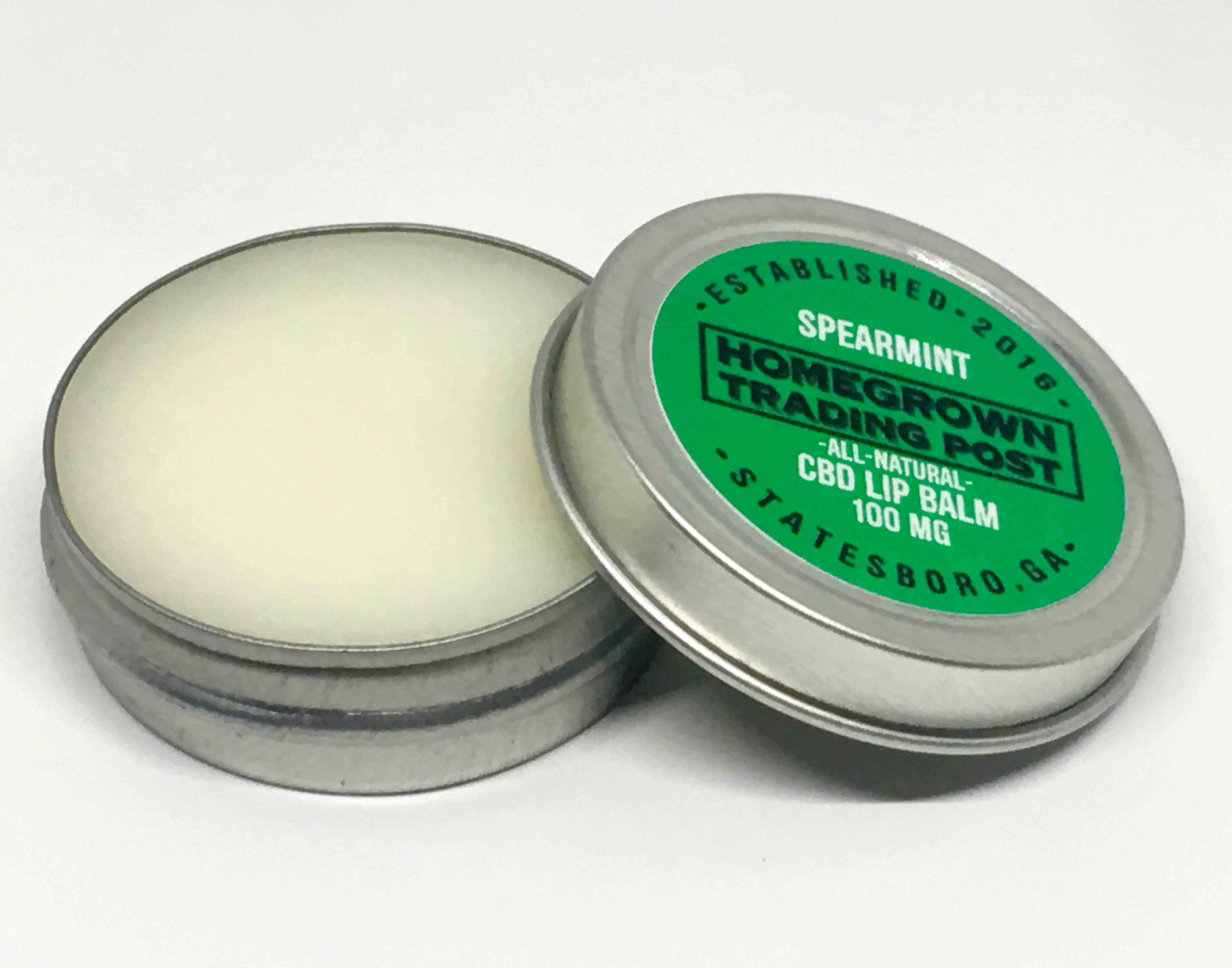 Spearmint CBD Lip Balm