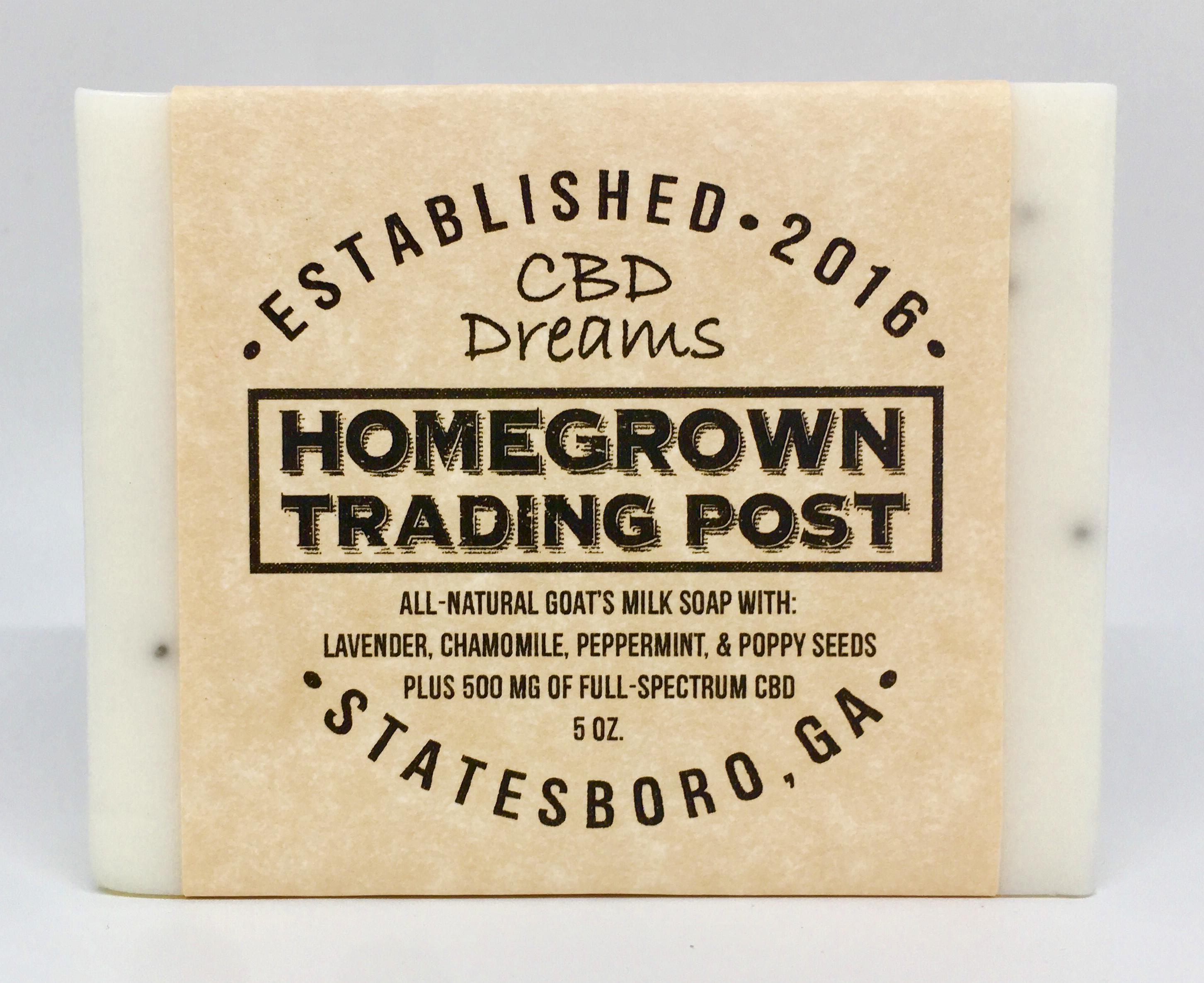 CBD Dreams       All-Natural Goat's Milk Soap