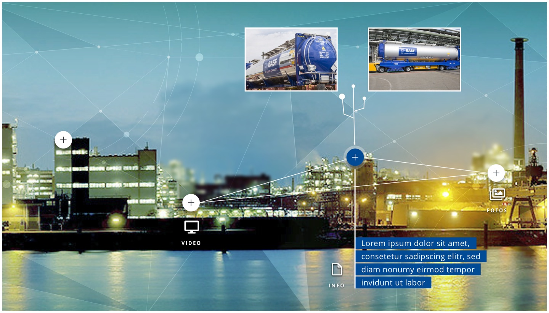 BASF Fernrohr Grafik