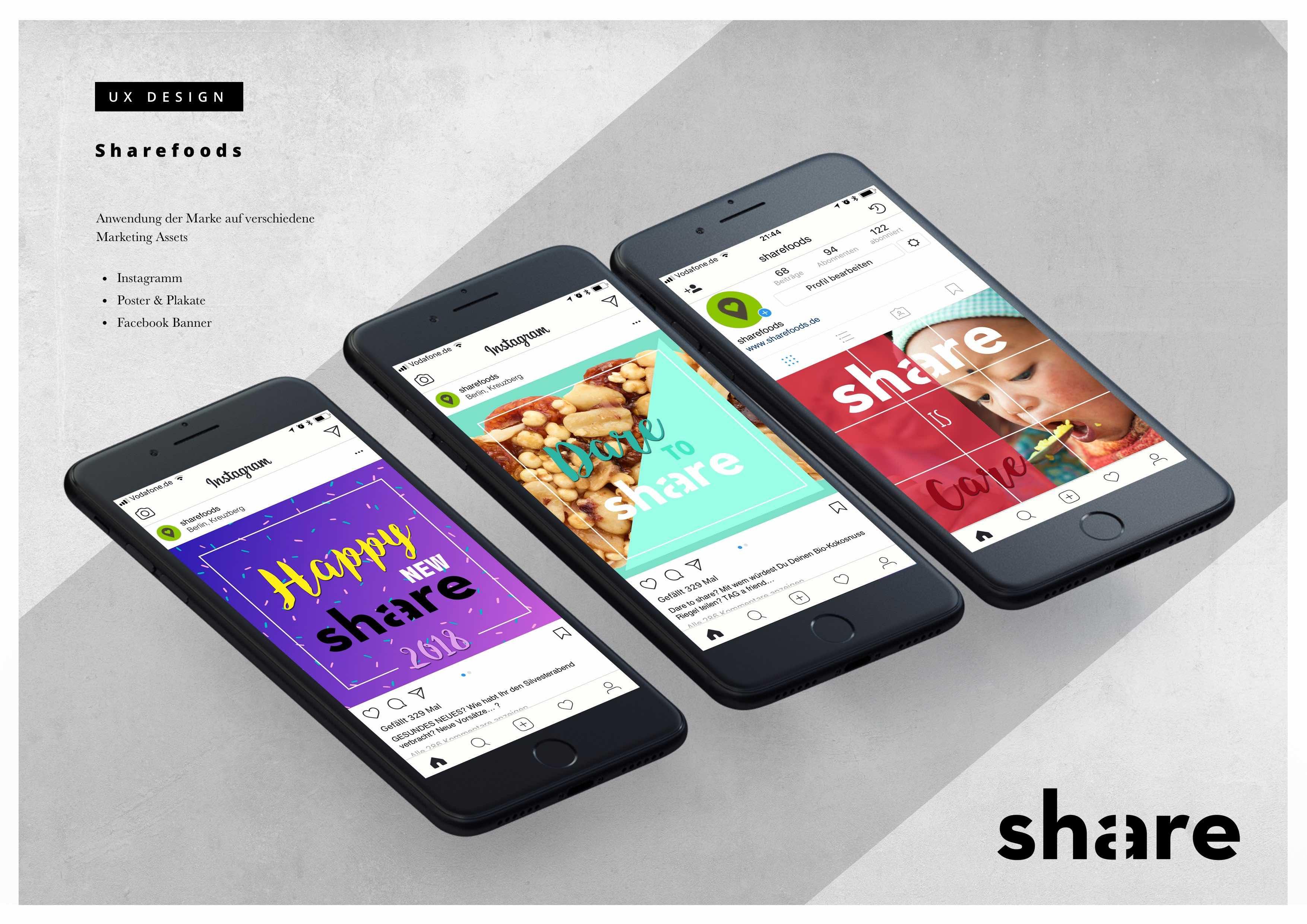 Share Food - Social Media Assests