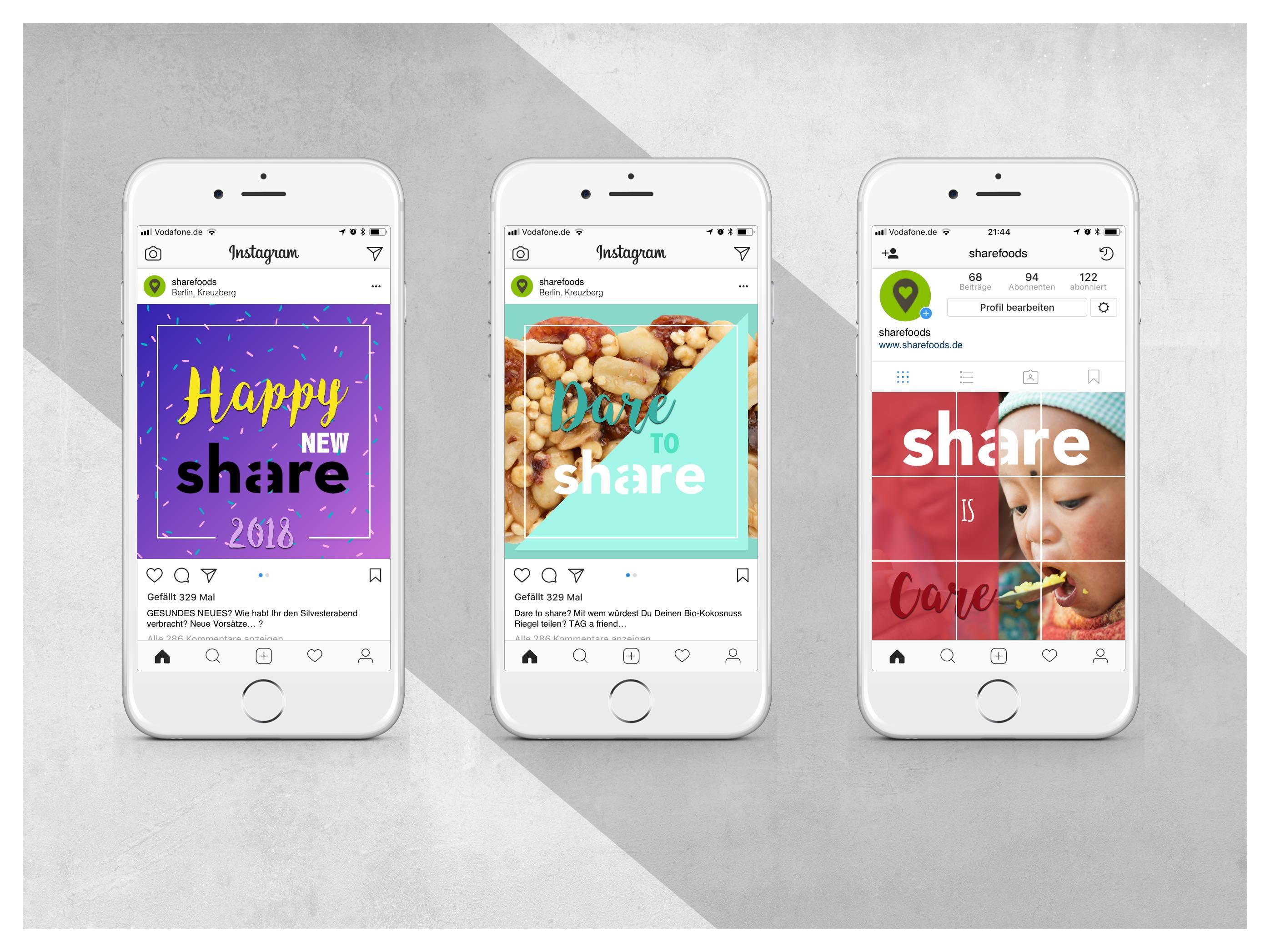 Share Food Instagram