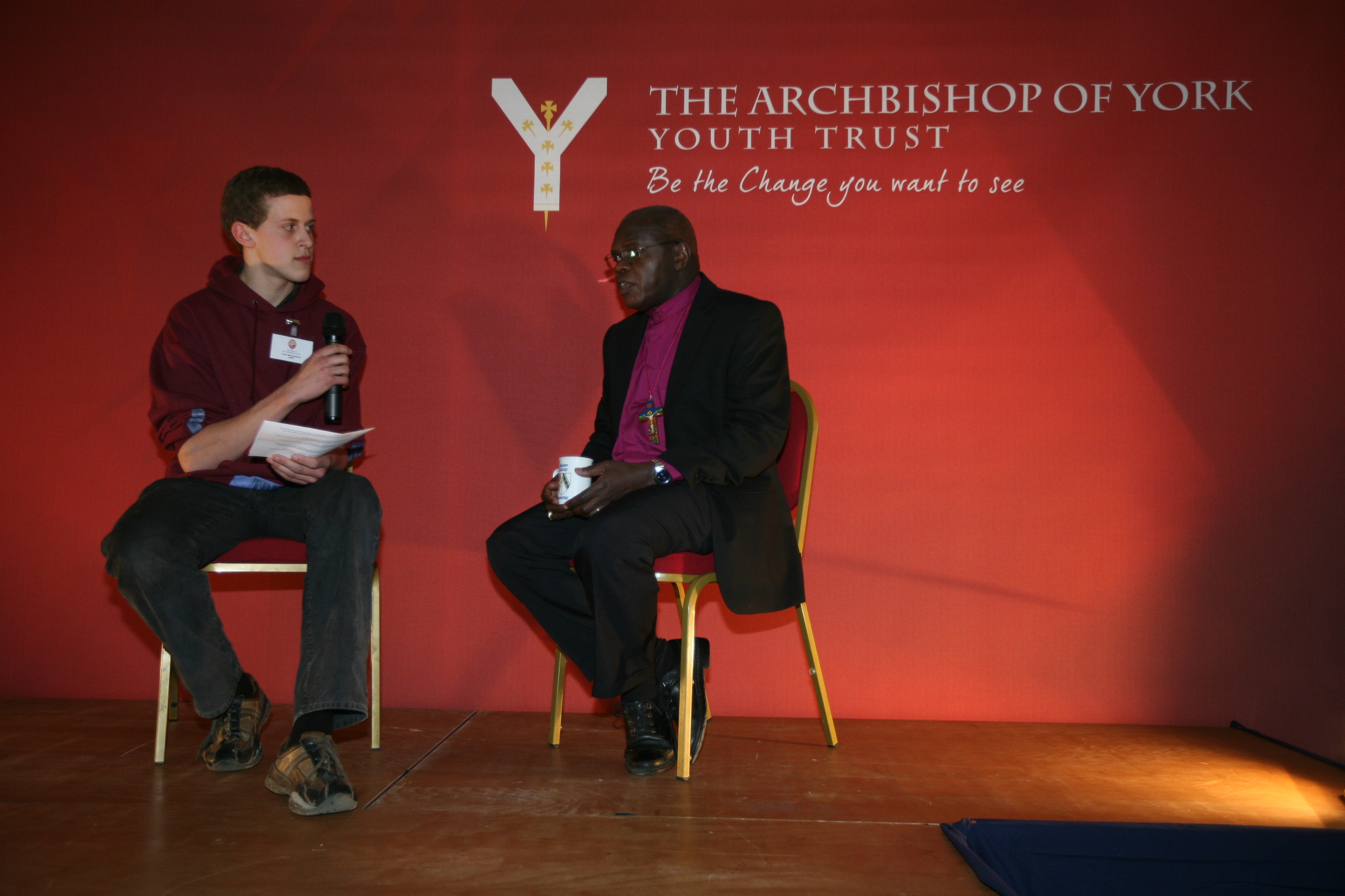 Dr. John Sentamu and Archbishop Desmond Tutu are to jointly launch the Archbishop of York Youth Trust