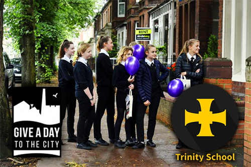 Y8 Trinity School Carlisle Community challenge- Give a Day to the City