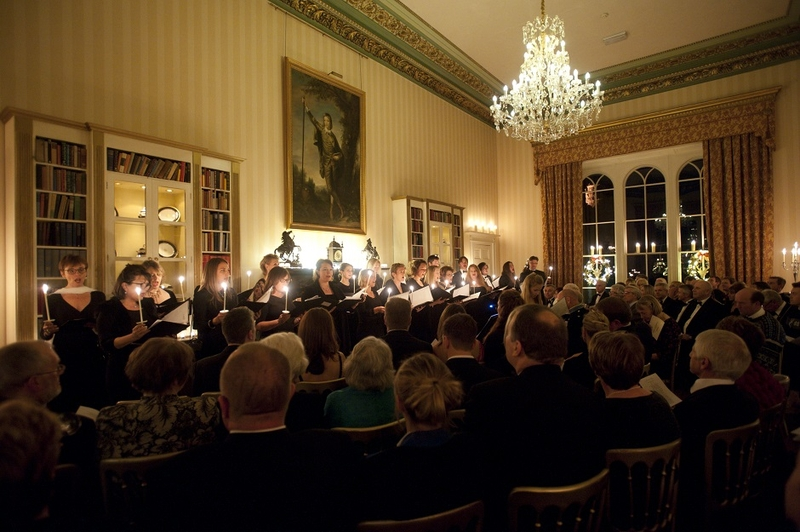 Richard Shephard writes new Carol for Swinton Park's Festive Evening