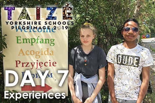 Taizé 2019 – Day 7: Experiences