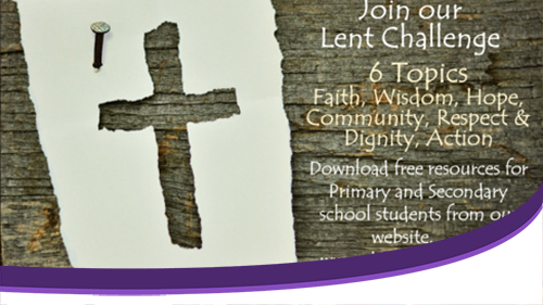 Youth Trust's School Resources for Lent