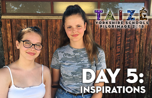 Taize 2018 - Day 5: Inspirations
