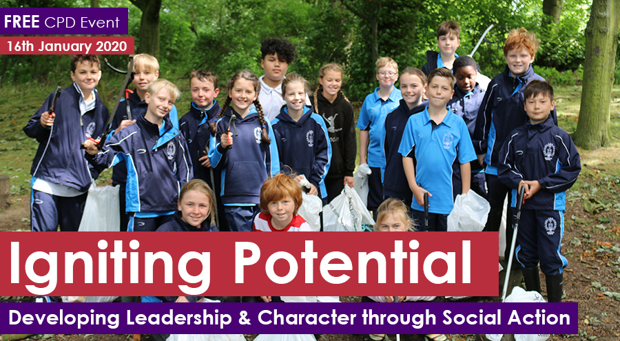 Igniting Potential: Developing Leadership & Character through Social Action