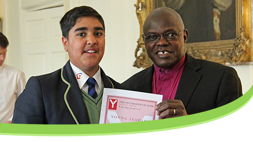 Thank you, Archbishop Sentamu